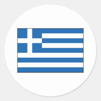 Grekland - grekisk flagga klistermärke