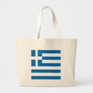 Grekland grekisk flagga tygkassar