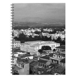 Grekland Nafplion stad 1970 Anteckningsbok