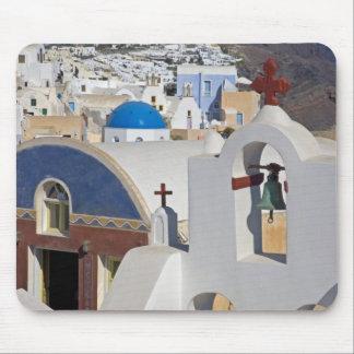 Grekland och grekisk ö av den Santorini townen av  Musmatta