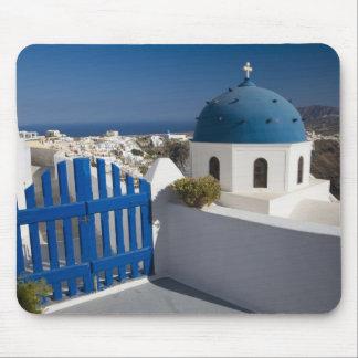 Grekland och grekisk ö av Santorini från Musmatta