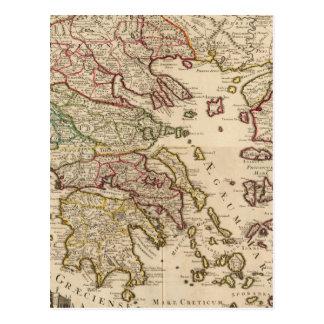Grekland och Makedonien Vykort