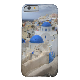Grekland Santorini. Sätta en klocka på torn och Barely There iPhone 6 Fodral