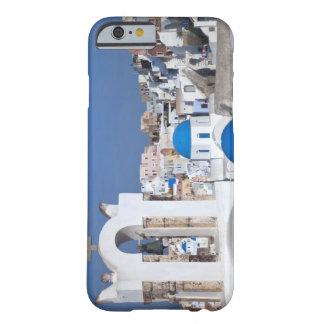 Grekland Santorini. Sätta en klocka på torn och Barely There iPhone 6 Skal