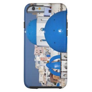 Grekland Santorini. Sätta en klocka på torn och Tough iPhone 6 Case