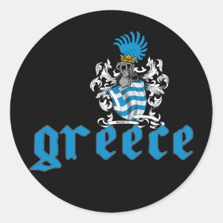 Grekland skyddar klistermärken