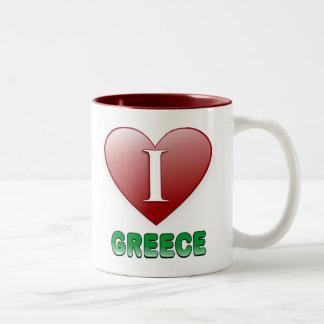 Grekland Två-Tonad Mugg