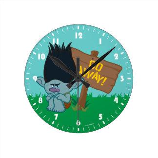 Gren för troll | - gå bort rund klocka