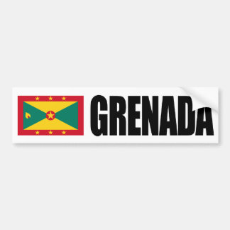 Grenada flagga bildekal