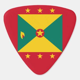 Grenada flagga gitarr pick