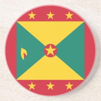 Grenada flagga glasunderlägg