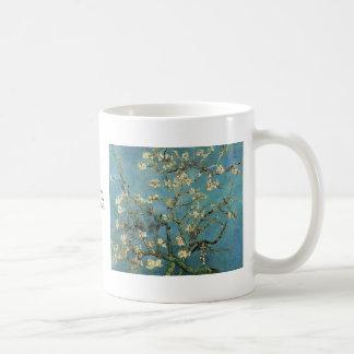 Grenar med mandelblommar av Vincent Van Gogh Kaffemugg