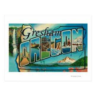Gresham Oregon - stora brevplatser Vykort