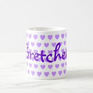 Gretchen i lilor kaffemugg