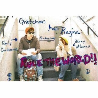 Gretchen & Regina magnetSPARA DATERA! Fotoskulptur Magnet