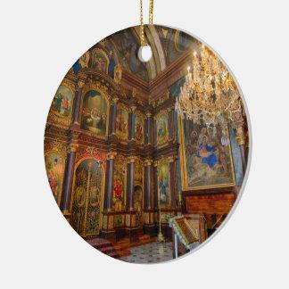 Griechenkirche zur Heiligen Dreifaltigkeit Julgransprydnad Keramik