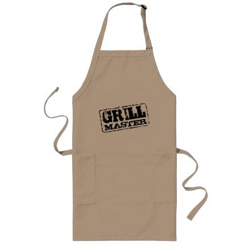 Grilla den för manar | beigen för ledar- BBQ-förkl Förkläde