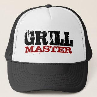 Grilla den ledar- hatten truckerkeps