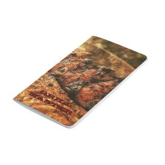 Grilla ledar- grillfestpersonliggåvor anteckningsbok