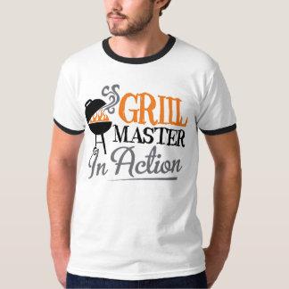 Grilla ledar- i handling tröjor