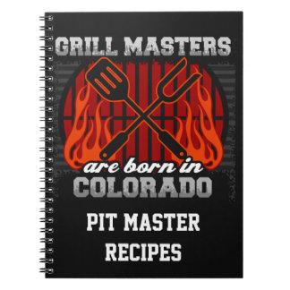 Grilla Masters är den bördiga Colorado personligen Anteckningsbok