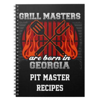 Grilla Masters är den bördiga Georgia personligen Anteckningsbok