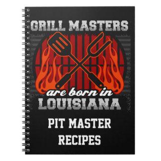 Grilla Masters är den bördiga Louisiana Anteckningsbok
