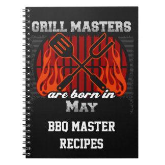 Grilla Masters är den bördiga majpersonligen Anteckningsbok