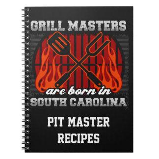 Grilla Masters är den bördiga personligen för S Anteckningsbok