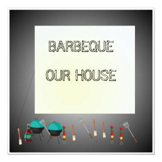 Grilla vårt House>Celebration inbjudankort Fyrkantigt 13,3 Cm Inbjudningskort