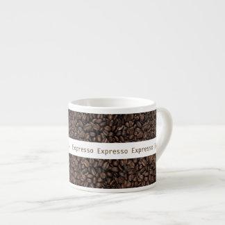 Grillad mugg för kaffebönaespresso espressomugg