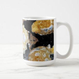 Grillade ägg kaffemugg