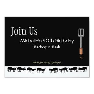 Grillfestinbjudningar för Michelle 12,7 X 17,8 Cm Inbjudningskort