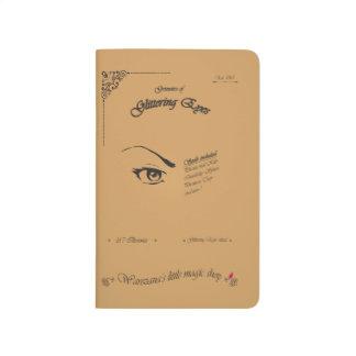 Grimoire av att blänka ögon anteckningsbok