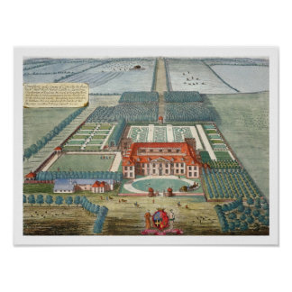 Grimsthorp i länet av Lincoln inristade vid Jo Poster