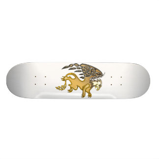 Grip Mini Skateboard Bräda 18,5 Cm