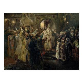 """Gripande av """"den storstads-"""" Philipen, 1910 Vykort"""