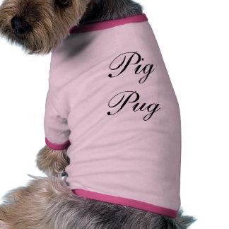 Grismopshund tröja t-shirt för hundar
