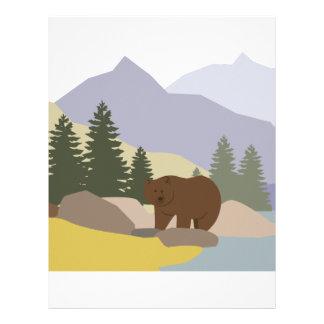 Grizzly Alaska Brevhuvud