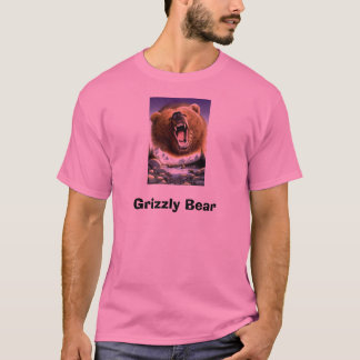 Grizzly-Bear-Poster-C10033289 Grizzlybjörn T-shirts