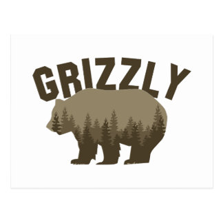 Grizzly Vykort