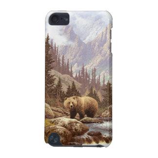 Grizzlybjörnen landskap fodral för det iPod iPod Touch 5G Fodral