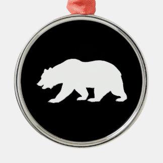 Grizzlybjörnprydnad Julgransprydnad Metall