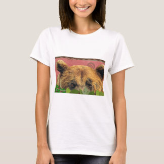 Grizzlyen beskådar T-tröja Tröja