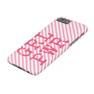 GRLPWR - Girlpower för roligt citationstecken Barely There iPhone 6 Skal