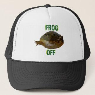Groda av hatten keps