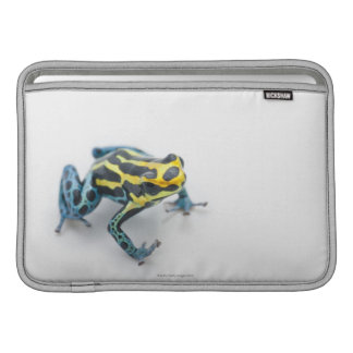 Groda för svart-, gult- och blåttgiftpil sleeve för MacBook air