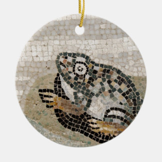 Groda Nile mosaik, från huset av faunen Julgransprydnad Keramik