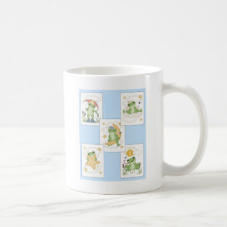 Groda på lek kaffemugg