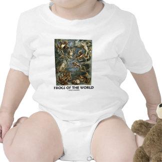 Grodor av världen Ernst Haeckel Tee Shirts